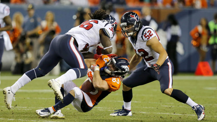 Denver Broncos' Wes Welker suffered third concussion in 10 mont…