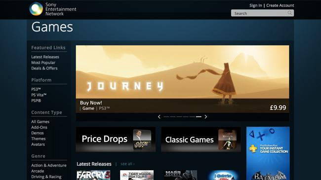 New Sony online store offers remote downloads to PlayStation and mobile devices
