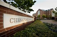 Chesapeake Energy Corporation's 50 acre campus is seen in Oklahoma City, Oklahoma, on April 17, 2012