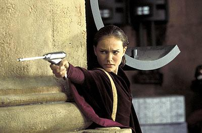 Natalie Portman as Queen Amidala in 20th Century Fox's Star Wars: Episode I
