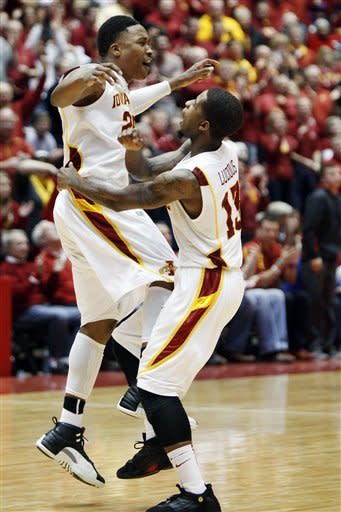 Iowa State upends No. 11 Kansas State 73-67