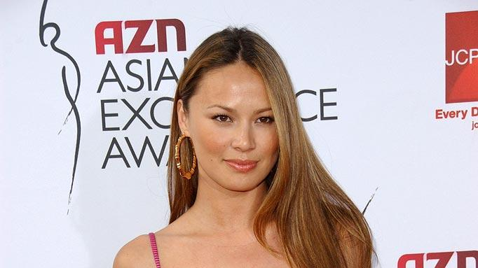 Moon Bloodgood of Journeyman  at the 2007 AZN Asian Excellence Awards.