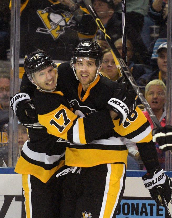 Penguins clinch playoff berth with 2-0 win over Sabres