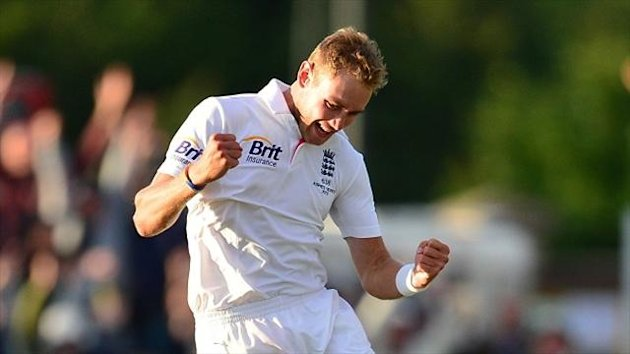 Stuart Broad's devastating spell ensured England won at Chester-le-Street