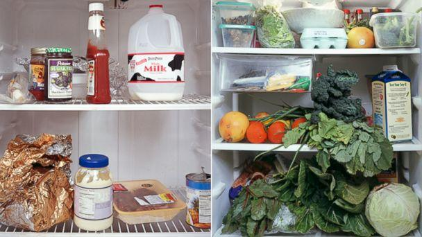 Photographer Peeks Inside People's Refrigerators