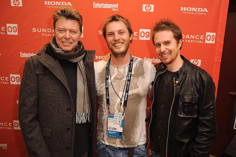 Sundance Film Festival 2009 David Bowie Duncan Jones Sam Rockwell