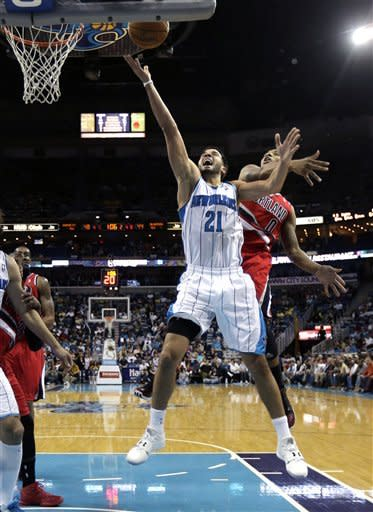 Anderson lifts Hornets over Trail Blazers, 98-96