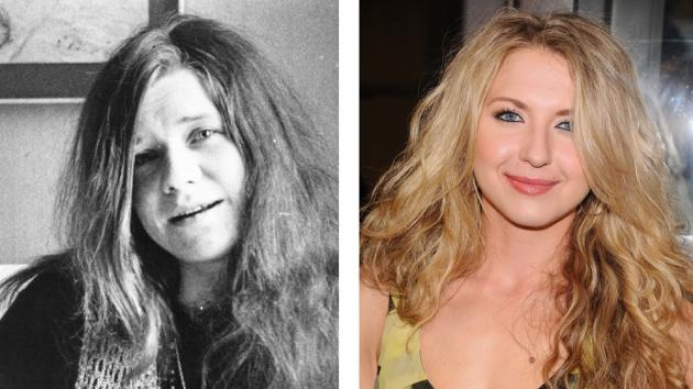 Janis Joplin (left), Nina Arianda (right) -- Getty Premium