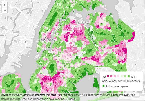 Cool Map Thing: See How Many New Yorkers Share Your Slice of Park