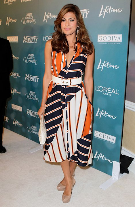 Variety's 2nd Annual Power of Women Luncheon 2010 Eva Mendes