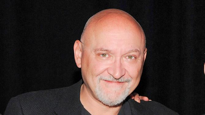"FILE - This May 15, 2013 file photo shows director and writer Frank Darabont of ""Mob City"" at the TNT and TBS 2013 Upfront at the Hammerstein Ballroom in New York. Darabont, the creator of ""The Walking Dead"" is suing AMC, claiming it has denied him tens of millions of dollars in profit from the hit drama. (Photo by Evan Agostini/Invision/AP, File)"