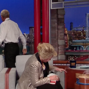 Letterman Walks Out on Joan Rivers Interview