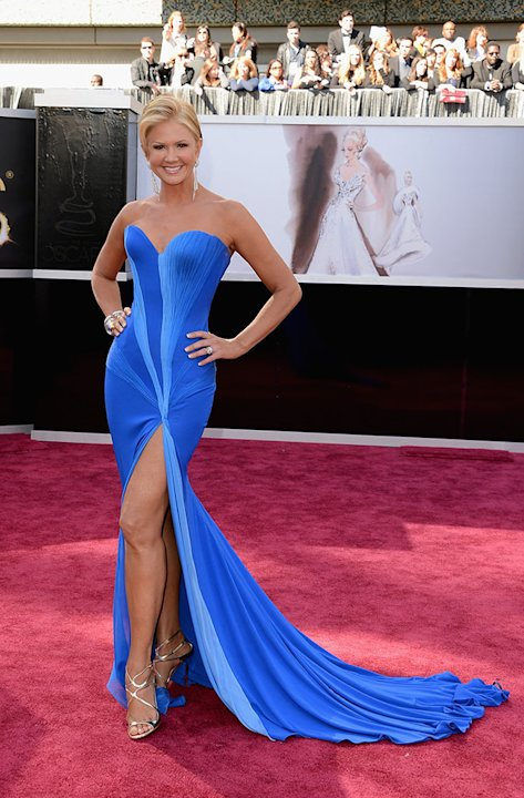 85th Annual Academy Awards - Arrivals: Nancy O'Dell