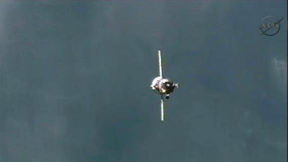 Russian Cargo Ship Docks to Space Station Just Hours After Launch