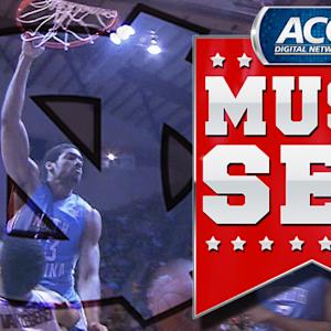UNC's James Michael McAdoo Drops The Hammer On The Hokies | ACC Must See Moment