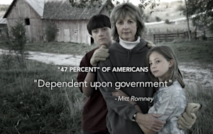 Obama's New Ad Is Just Romney's '47 Percent' Tape