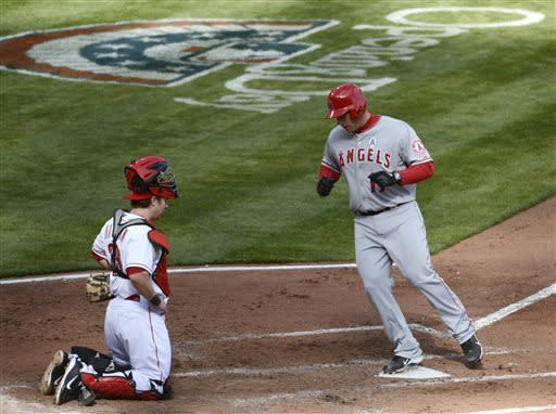 Iannetta's hit in 13th sends Angels over Reds 3-1