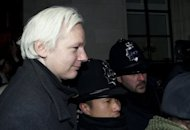 <p>Wikileaks founder Julian Assange leaves the Supreme Court in central London in February 2012. Assange embarked on a marathon round of court battles, but finally exhausted all his options under British law in June when the Supreme Court overturned his appeal against extradition to Sweden.</p>