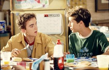 Frankie Muniz and Justin Berfield in Fox's Malcolm In The Middle