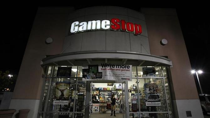 A GameStop store is pictured in Pasadena, California