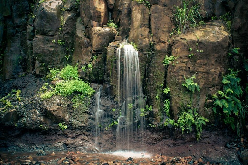 Monsoon - Waterfall in Amboli