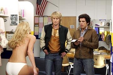 Brande Roderick , Owen Wilson and Ben Stiller in Warner Bros. Starsky & Hutch