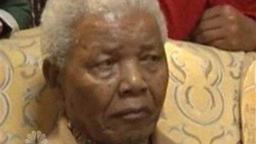 Nelson Mandela Back in the Hospital