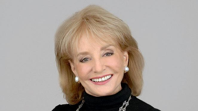 Barbara Walters hosts The View on ABC.
