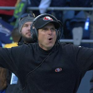San Francisco 49ers Head Coach Jim Harbaugh suitors on fast track