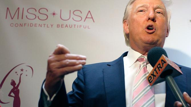Donald Trump Crowns The New Miss USA Nana Meriwether