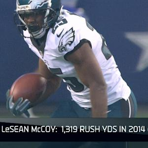 What is running back LeSean McCoy's fantasy value?