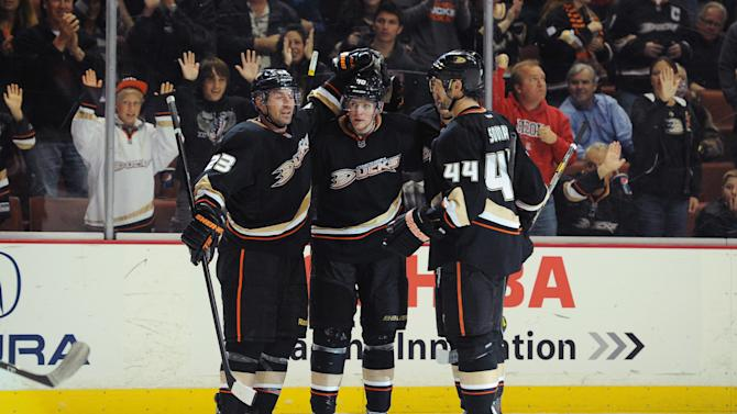 NHL: San Jose Sharks at Anaheim Ducks