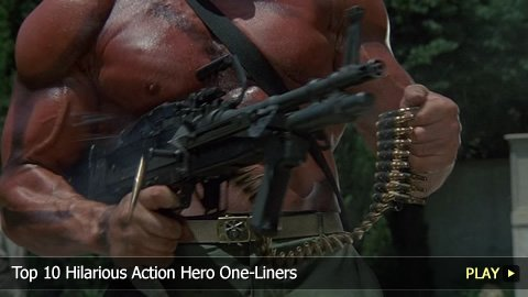 Top 10 Hilarious Action Hero One-Liners