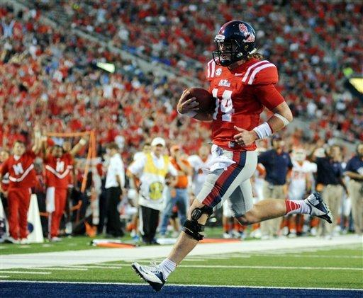 Wallace leads Mississippi past UTEP 28-10