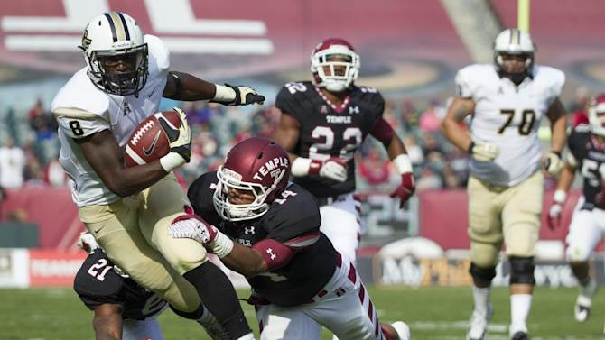 No. 17 UCF doesn't want close game with Rutgers