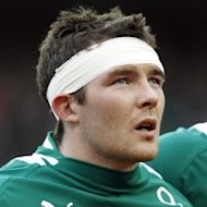 Peter O'Mahony made his first international start against the All Blacks