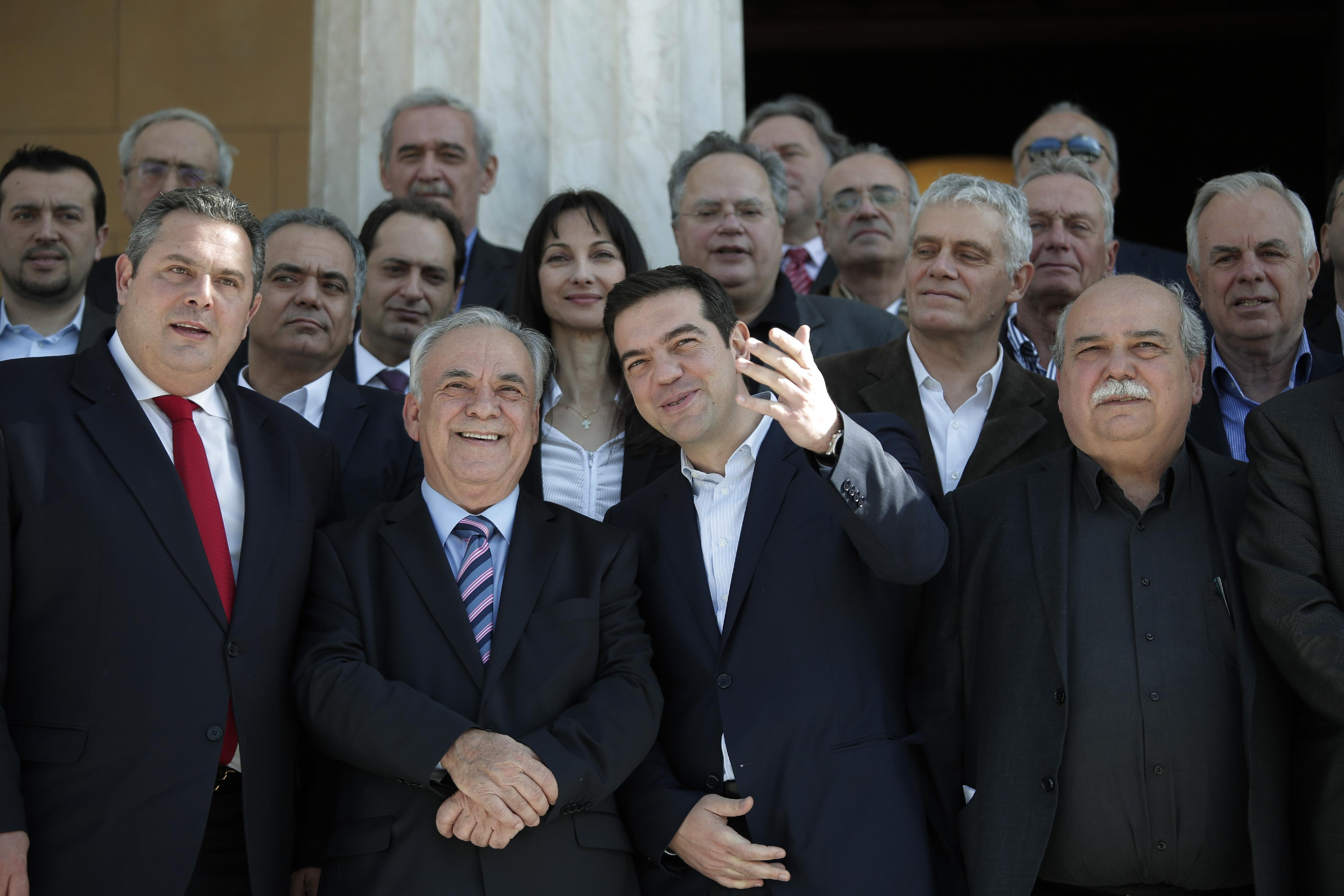 Greek bailout in focus as EU parliament head visits Athens