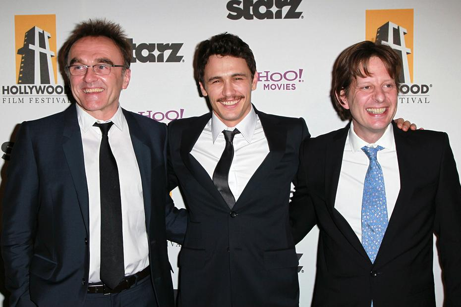 2010 Hollywood Awards Danny Boyle James Franco Christian Colson