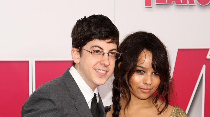 Year One New York premiere 2009 Christopher Mintz Plasse Zoe Kravitz