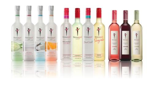 US reality TV star Bethenny Frankel's Skinnygirl Cocktails was the fastest growing spirit brand in the US last year.