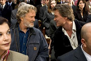 Kris Kristofferson and Kurt Russell in DreamWorks Pictures' Dreamer: Inspired by a True Story