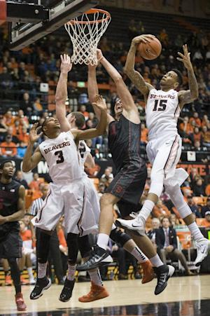 Oregon State defeats Stanford 81-72