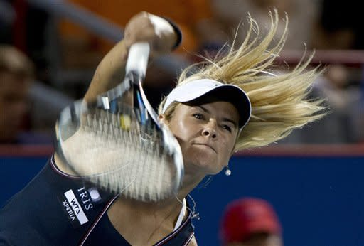 Wozniak outlasts Hantuchova in Montreal