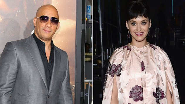 Vin Diesel Dances to Katy Perry's 'Dark Horse' — And She Responds (ABC News)