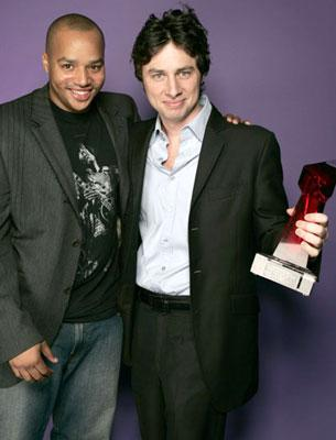 Donald Faison and Zach Braff Hollywood Life's 4th Annual Breakthrough of the Year Awards - 12/12/2004