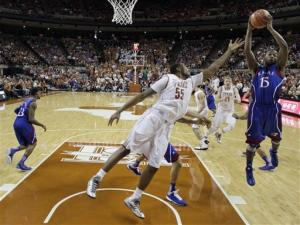 No. 4 Kansas rallies at Texas to win 15th straight