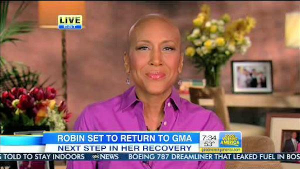 Robin Roberts announces planned return to GMA