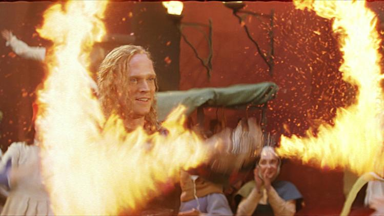 Paul Bettany Inkheart Production Stills New Line 2009