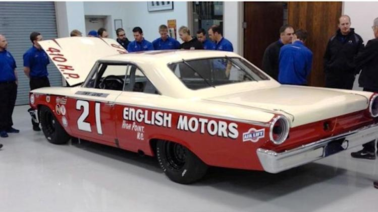 '63 Daytona winner rolls on for Wood Brothers