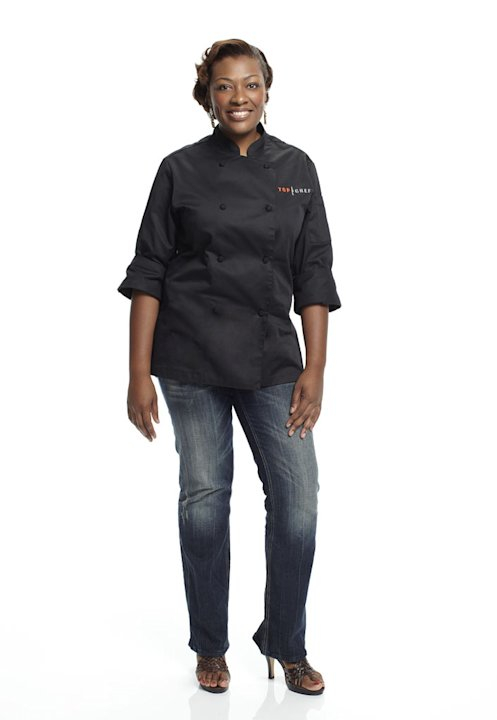 "Tiffany competes in the 8th season of ""Top Chef."""